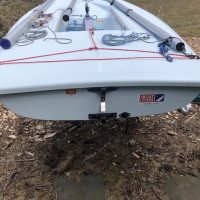 2018 Race Rigged Laser For sale with Cover and dolly -(Injured my shoulder can't race-must sell)